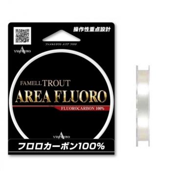 Флюорокарбон YAMATOYO Trout Area Fluoro, #0.4, 100 м, прозрачный в интернет магазине Rybaki.ru