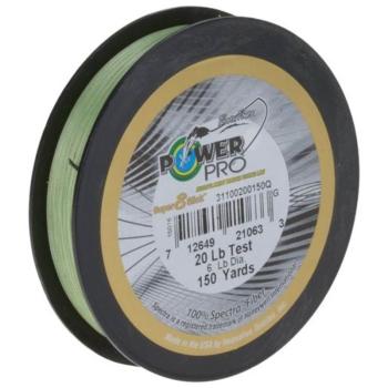 Плетенка POWER PRO Super8Slick 135 м цв. зеленый 0,13 мм 8 кг в интернет магазине Rybaki.ru