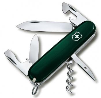 Нож VICTORINOX Spartan 12 функций цв. темно-зеленый карт. коробка