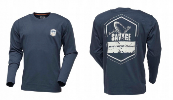 Футболка SG Simply Savage Rex Tee Long цвет синий