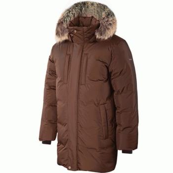 Куртка пуховая SIVERA Сайгат цвет чёрный кофе в интернет магазине Rybaki.ru