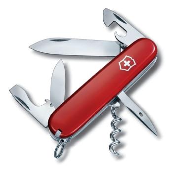 Нож VICTORINOX Spartan красный 12 функций 91 мм блистер