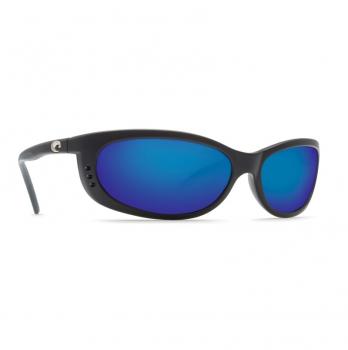 Очки поляризационные COSTA DEL MAR Fathom W580 р. M цв. Matte Black цв. ст. Blue Mirror Glass