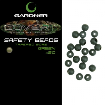 Бусина резиновая GARDNER Covert Safety Beads 4 мм. (20 шт.) цв. green