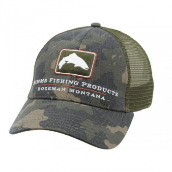 Кепка SIMMS Trout Icon Trucker цв. Simms Camo