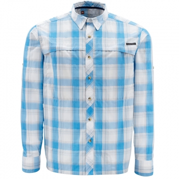 Рубашка SIMMS Stone Cold Shirt цвет Cornflower Plaid