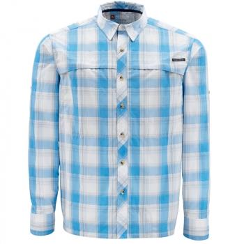Рубашка SIMMS Stone Cold Shirt цвет Cornflower Plaid