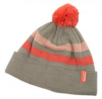 Шапка SIMMS Women's Fleece Lined Pom Hat цв. Mineral