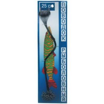 Поводок Наша рыбалка вольфрамовый 20 см 15 кг в интернет магазине Rybaki.ru