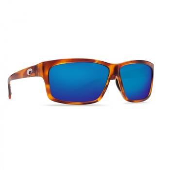 Очки поляризационные COSTA DEL MAR Cut 580P р. L цв. Honey Tortoise цв. ст. Blue Mirror