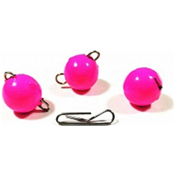 Груз-Головка ТУЛА Чебурашка разборная цв. розовый (5 шт.) 3 гр