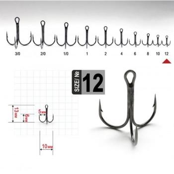 Крючок тройной FANATIK FT-1103 № 1