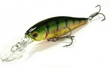 Воблер LUCKY CRAFT Slender Pointer 97 MR цв. Aurora Gold Northern Perch