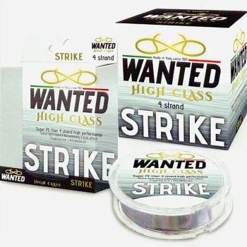 Плетенка WANTED Strike 4X 150 м цв. разноцветный 1.0 PE в интернет магазине Rybaki.ru