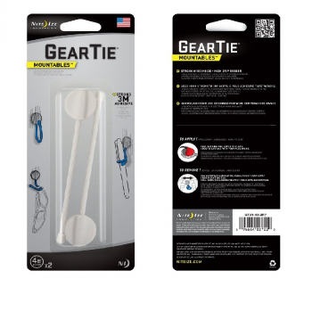 "Организатор провода NITE IZE Gear Tie Mountables 2"" цв. Белый"