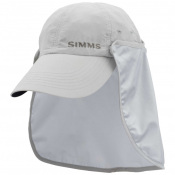 Кепка SIMMS Bugstopper Sunshield Hat цв. Ash