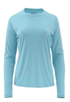 Футболка SIMMS Ws Solarflex Crewneck цвет turquoise