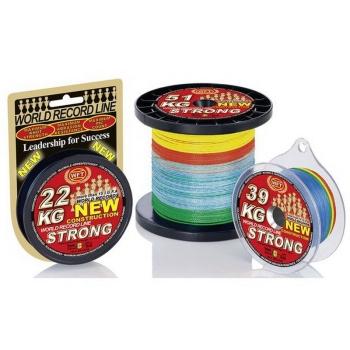Плетенка WFT Strong цв. Multicolor 300 м 0,32 мм в интернет магазине Rybaki.ru