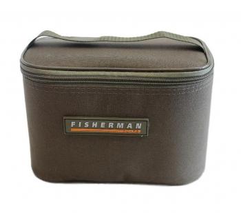 Кофр FISHERMAN Ф65/2 для банок с приманкой на 12 шт. в интернет магазине Rybaki.ru