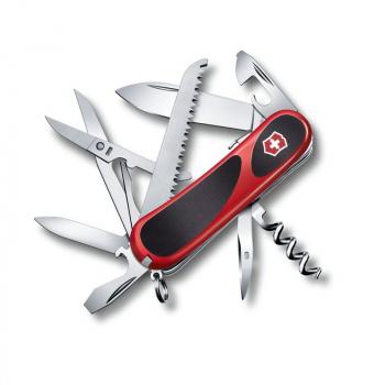 Нож VICTORINOX Evolution S17 85 мм 15 функций цв. красный, карт.коробка