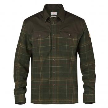 Рубашка FJALLRAVEN Granit Shirt M цвет Green в интернет магазине Rybaki.ru