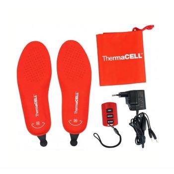 Стельки THERMACELL с подогревом цвет красный