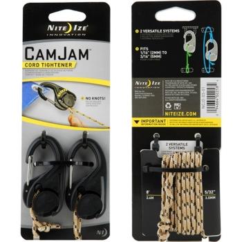 Крепление для веревки NITE IZE CamJam (2 шт.) + веревка (2,44 м)