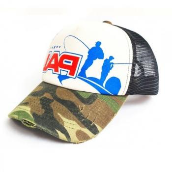 Бейсболка ZETRIX PAL Cap цв. Камуфляж / черный в интернет магазине Rybaki.ru