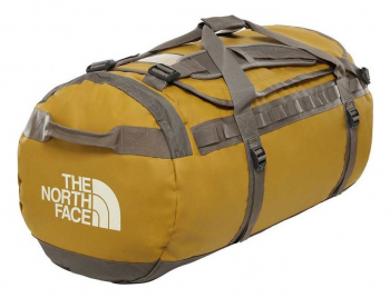 Сумка THE NORTH FACE Base Camp Duffel - L цв. british khaki / weimaraner brown 95 л в интернет магазине Rybaki.ru