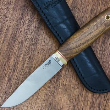 Нож ЮЖНЫЙ КРЕСТ Удобный сталь N690 рукоять Комлевой орех в интернет магазине Rybaki.ru