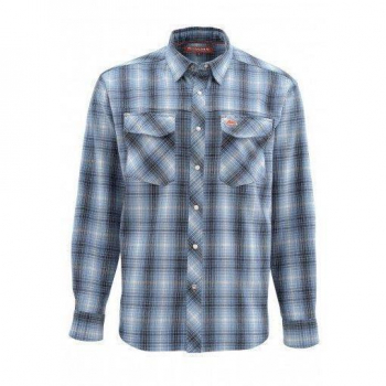 Рубашка SIMMS Gallatin Flannel LS Shirt цвет Dark Moon Plaid
