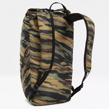 Рюкзак THE NORTH FACE Flyweight Rolltop Packable Backpack 19,5 л цв. Britsh Khaki Tiger Camo Print/ Black