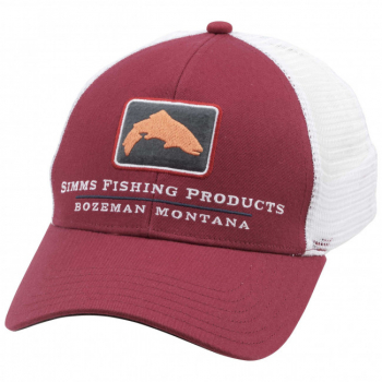 Кепка SIMMS Small Fit Trucker цв. Rusty Red