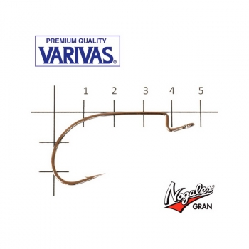 Крючок офсетный VARIVAS Hooking Master Heavy Wide № 2/0 (7 шт.)