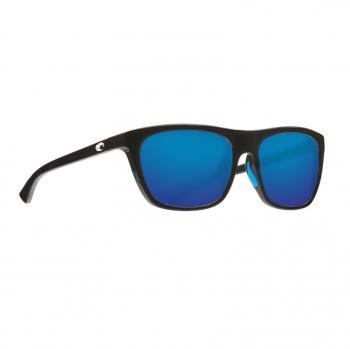 Очки поляризационные COSTA DEL MAR Cheeca 580P р. S цв. Shiny Black цв. ст. Blue Mirror