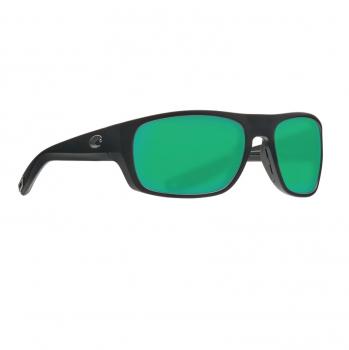 Очки поляризационные COSTA DEL MAR Tico 580P р. M цв. Matte Black цв. ст. Green Mirror