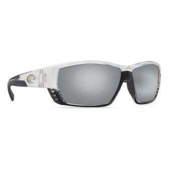 Очки COSTA DEL MAR Tuna Alley 580 GLS р. L цв. Crystal цв. ст. Silver Mirror