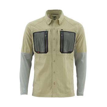 Рубашка SIMMS Taimen Tricomp Ls Shirt цвет Sage