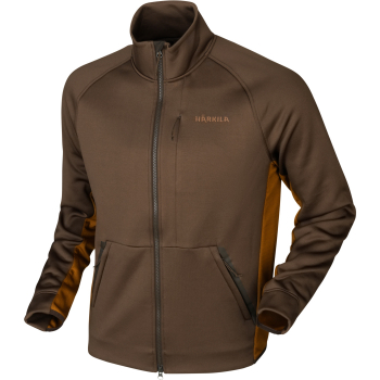 Куртка HARKILA Borr Hybrid Fleece цвет Slate Brown / Rustique Clay