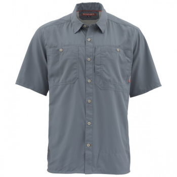 Рубашка SIMMS Ebb Tide SS Shirt цвет Storm
