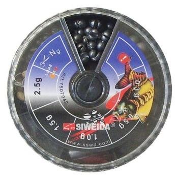 Набор грузов SIWEIDA № 2 70 гр. для поплавка силиконовый в интернет магазине Rybaki.ru