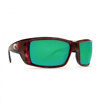 Очки поляризационные COSTA DEL MAR Permit W580 р. XL цв. Tortoise цв. ст. Green Mirror Glass