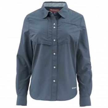 Рубашка SIMMS WS Big Sky LS Shirt цвет Dark Moon