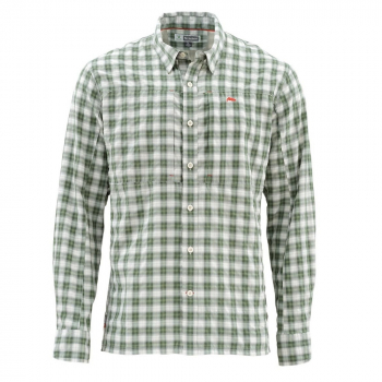 Рубашка SIMMS Bugstopper LS Shirt цвет Plaid Kelp