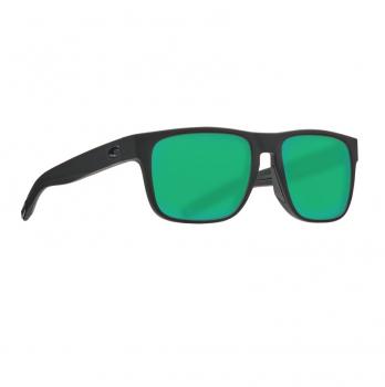 Очки поляризационные COSTA DEL MAR Spearo 580G р. M цв. Blackout цв. ст. Green Mirror