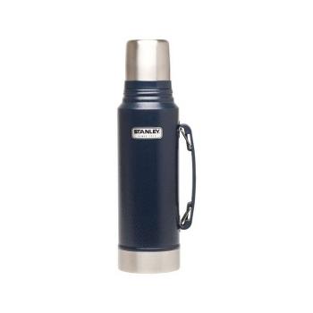 Термос STANLEY Classic Vacuum Bottle (тепло 24 ч/ холод 24 ч) 1 л цв. Синий в интернет магазине Rybaki.ru