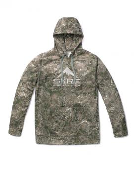 Толстовка SKRE Mad Trapper Hoodie цвет MTN Stealth в интернет магазине Rybaki.ru