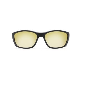 Очки COSTA DEL MAR Fisch 580 P р. XL цв. Blackout цв. ст. Sunrise Silver Mirror