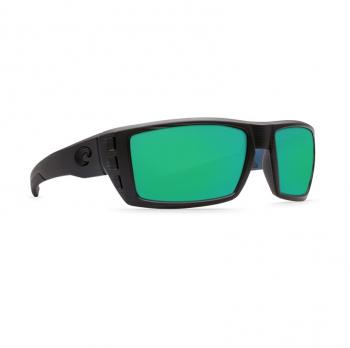 Очки поляризационные COSTA DEL MAR Rafael W580 р. M цв. Black Teak цв. ст. Green Mirror Glass