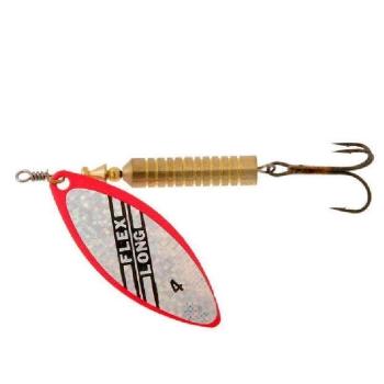 Блесна вращающаяся NORSTREAM Flex Longa № 0 3 г цв. red silver flex